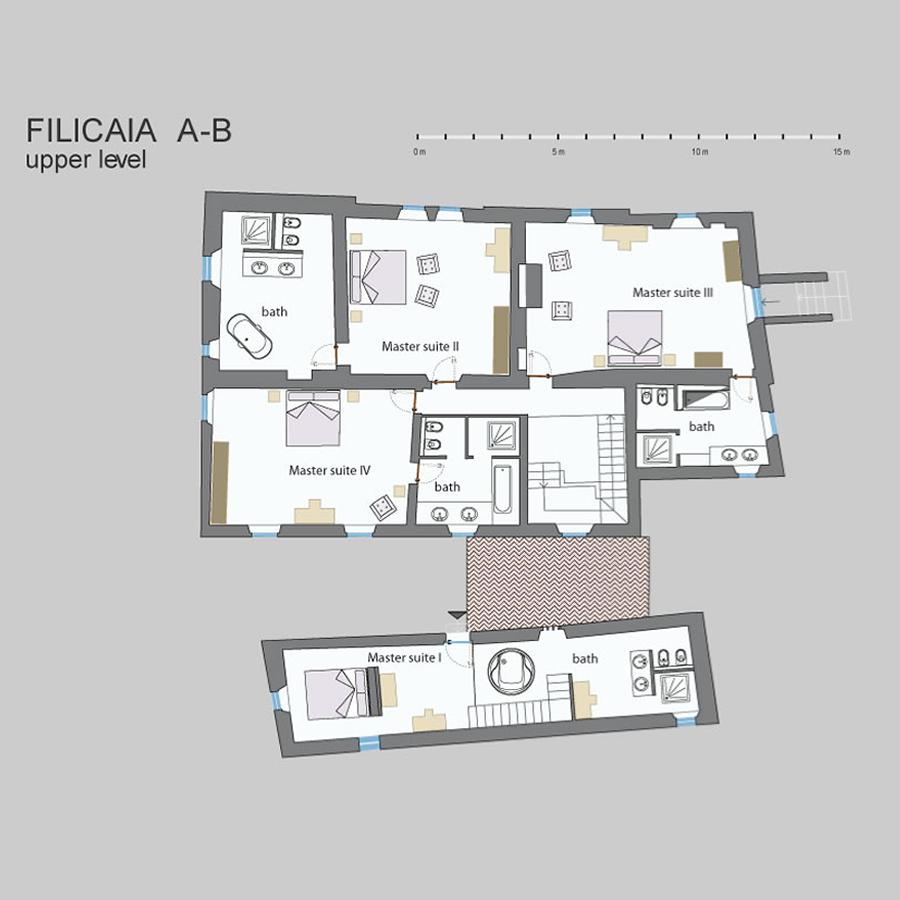 Filicaia map tenuta del gabbro for Casa design monterotondo