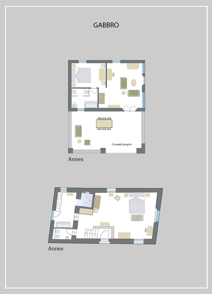 Il gabbro map tenuta del gabbro for Casa design monterotondo